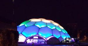 La cúpula del Milenio Valladolid