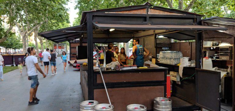 Caseta de Feria del día en Fiestas de Valladolid 2018